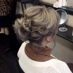 ボブ 切りっぱなしボブ 結婚式 ヘアセット ヘアスタイルや髪型の写真・画像