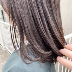 アッシュグレージュ グレージュ 透明感 女子力 ヘアスタイルや髪型の写真・画像