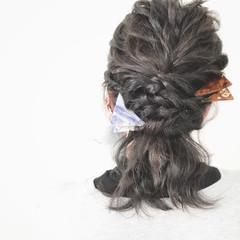 大人女子 フェミニン 小顔 セルフヘアアレンジ ヘアスタイルや髪型の写真・画像