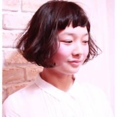 ゆるふわ コンサバ ショート ボブ ヘアスタイルや髪型の写真・画像