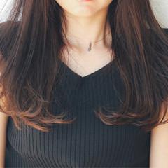 透け感 レイヤー 抜け感 レイヤーカット ヘアスタイルや髪型の写真・画像