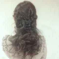 パーティ フェミニン 結婚式 ショート ヘアスタイルや髪型の写真・画像