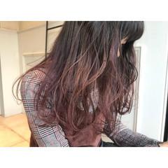 ラベンダー ストリート 外国人風カラー ロング ヘアスタイルや髪型の写真・画像