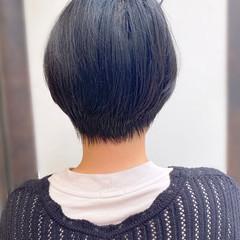ショートヘア ショートボブ 簡単スタイリング 大人かわいい ヘアスタイルや髪型の写真・画像