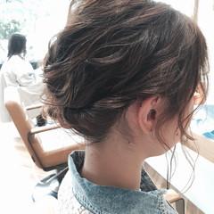 くせ毛風 ヘアアレンジ 外国人風 ショート ヘアスタイルや髪型の写真・画像