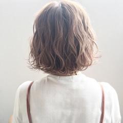アンニュイ 色気 グレージュ パーマ ヘアスタイルや髪型の写真・画像