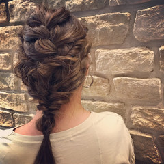 結婚式 女子会 ミディアム ショート ヘアスタイルや髪型の写真・画像