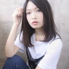 ストレート 可愛い 美髪 艶髪 ヘアスタイルや髪型の写真・画像