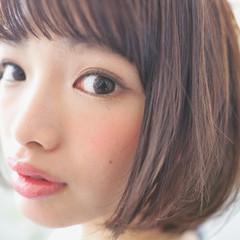 小顔 色気 ナチュラル ストレート ヘアスタイルや髪型の写真・画像