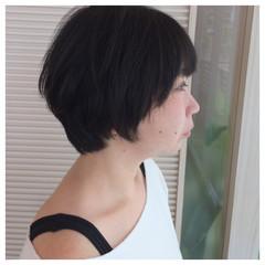 大人女子 ショート ナチュラル 色気 ヘアスタイルや髪型の写真・画像