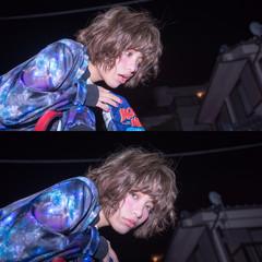 ゆるふわ アッシュ 色気 ストリート ヘアスタイルや髪型の写真・画像