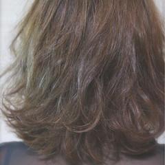 ナチュラル ボブ スモーキーアッシュ 外国人風 ヘアスタイルや髪型の写真・画像