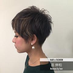 ショート モード ベリーショート 外国人風 ヘアスタイルや髪型の写真・画像