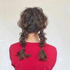成人式 ヘアアレンジ デート セミロング ヘアスタイルや髪型の写真・画像