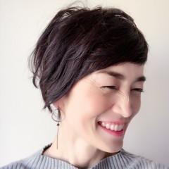 モテ髪 上品 大人かわいい 40代 ヘアスタイルや髪型の写真・画像