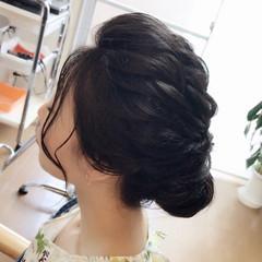デート ヘアアレンジ 和装 ナチュラル ヘアスタイルや髪型の写真・画像