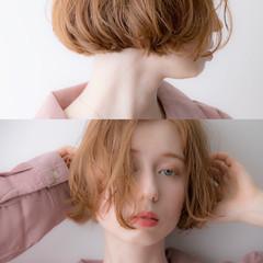 ショートボブ ミニボブ 外ハネボブ 切りっぱなしボブ ヘアスタイルや髪型の写真・画像