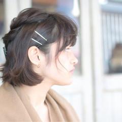 おフェロ ヘアアレンジ ボブ 簡単ヘアアレンジ ヘアスタイルや髪型の写真・画像