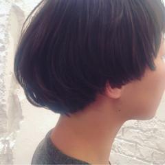 ショート モード マッシュ ヘアスタイルや髪型の写真・画像