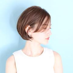 ナチュラル ショートヘア ショートボブ ベリーショート ヘアスタイルや髪型の写真・画像
