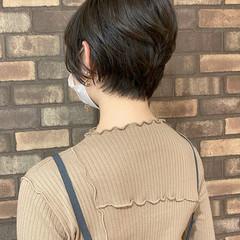 ショート ショートヘア 大人ショート ナチュラル ヘアスタイルや髪型の写真・画像