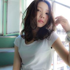 暗髪 アッシュ 外国人風 ストリート ヘアスタイルや髪型の写真・画像