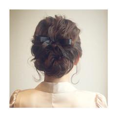 クラシカル ヘアアレンジ ロープ編み パーティ ヘアスタイルや髪型の写真・画像