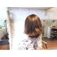 グラデーションカラー ボブ 外国人風 アッシュ ヘアスタイルや髪型の写真・画像