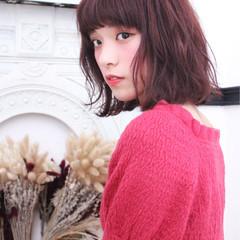 ゆるふわ くせ毛風 ナチュラル 色気 ヘアスタイルや髪型の写真・画像