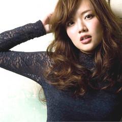 大人かわいい モテ髪 ロング ナチュラル ヘアスタイルや髪型の写真・画像