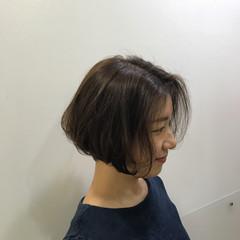 モード ガーリー フェミニン ショートボブ ヘアスタイルや髪型の写真・画像