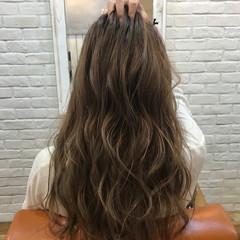 ロング デート アウトドア 秋 ヘアスタイルや髪型の写真・画像
