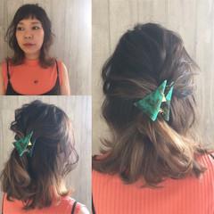 ボブ ショート グラデーションカラー ストリート ヘアスタイルや髪型の写真・画像