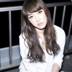 ストリート 外国人風 ブラウン ミディアム ヘアスタイルや髪型の写真・画像