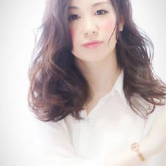 大人かわいい 黒髪 ショート パーマ ヘアスタイルや髪型の写真・画像
