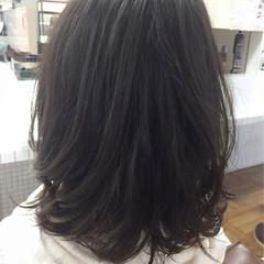 ダークアッシュ グレージュ 暗髪 パーマ ヘアスタイルや髪型の写真・画像