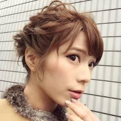 ヘアアレンジ ショート モテ髪 愛され ヘアスタイルや髪型の写真・画像