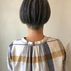 ショートヘア 大人ヘアスタイル ショートボブ ミニボブ ヘアスタイルや髪型の写真・画像