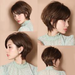 モード 中村アン ショートボブ ショートヘア ヘアスタイルや髪型の写真・画像