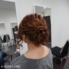 ナチュラル アップスタイル ミディアム 和装 ヘアスタイルや髪型の写真・画像