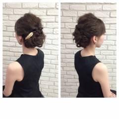 結婚式 ストリート 外国人風 ヘアアレンジ ヘアスタイルや髪型の写真・画像