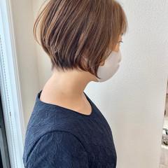 ベリーショート ショート インナーカラー ショートヘア ヘアスタイルや髪型の写真・画像