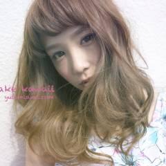 モテ髪 ロング 大人かわいい ゆるふわ ヘアスタイルや髪型の写真・画像