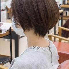 ショート ショートヘア ハンサムショート ショートカット ヘアスタイルや髪型の写真・画像
