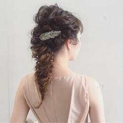 簡単ヘアアレンジ くせ毛風 ロング 外国人風 ヘアスタイルや髪型の写真・画像