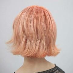ブリーチ ショート ハイトーン ダブルカラー ヘアスタイルや髪型の写真・画像