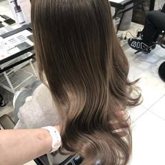 マット ロング ヨシンモリ 韓国ヘア ヘアスタイルや髪型の写真・画像
