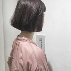 ナチュラル ショートボブ 透明感 ボブ ヘアスタイルや髪型の写真・画像