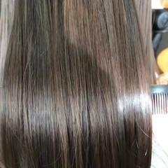 髪質改善 福岡市 髪質改善トリートメント ナチュラル ヘアスタイルや髪型の写真・画像