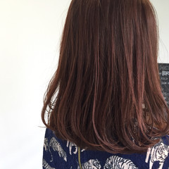 ロブ 艶髪 ミディアム ボブ ヘアスタイルや髪型の写真・画像